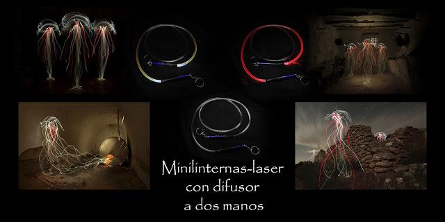 Minilinternas-laser con difusor a dos manos 1500px